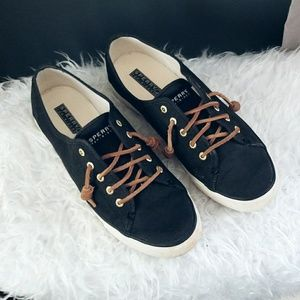 Sperry classic black sneakers